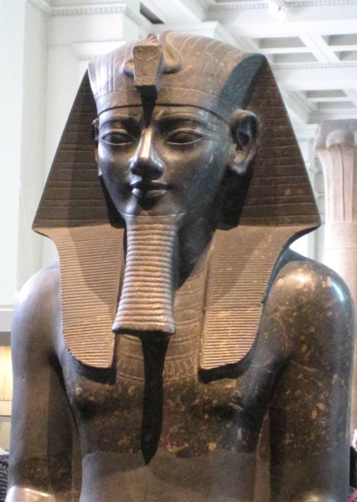 Colossal Amenhotep III British Museum