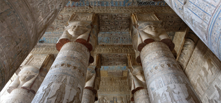 celling-temple-of-hathor-2