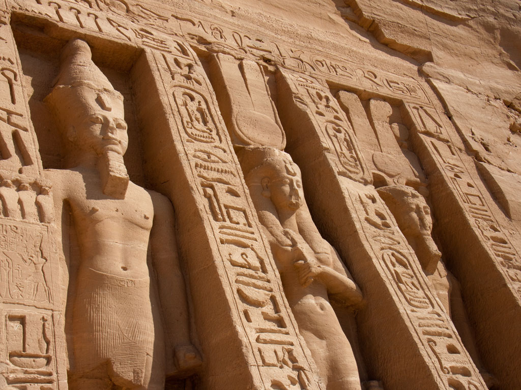Outside of Temple of Queen Nefertari